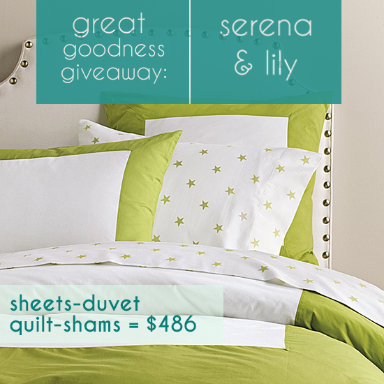 Serena & Lily Modern Children's Decor and Kids Bedding sets Giveaway