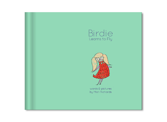 Birdie Learns to Fly Children's Book - with Blurb.com