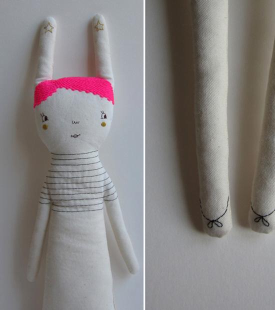 marina R PInsel Blues handmade dolls from Germany
