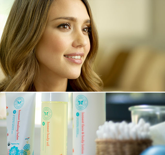 The Honest Company - an interview with Jessica Alba about organic baby products and motherhood