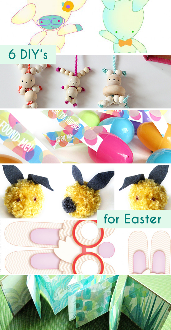 Top 6 Easter Printables and DIY Projects for Kids by Small for Big