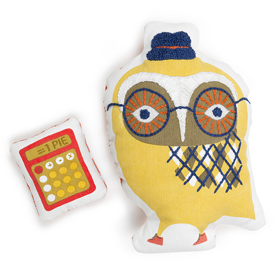 Jonathan Adler Junior Jr - Owl Pillow