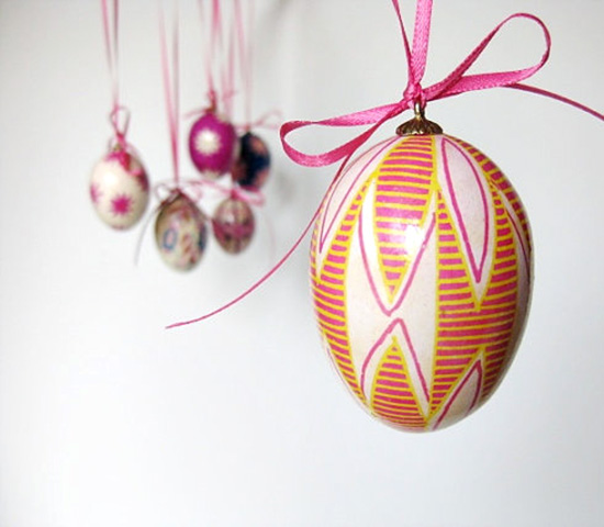 Ukrainian Easter Eggs - handmade on etsy - kit from Hearthsong