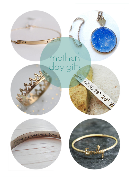 Mother's Day Gifts - Jewelry, necklaces, rings, bracelets
