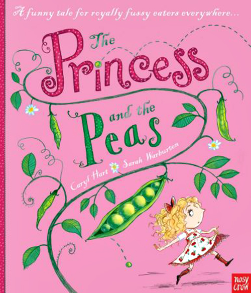 Modern Children S Book Covers : Princess and the peas strong girls books feminist