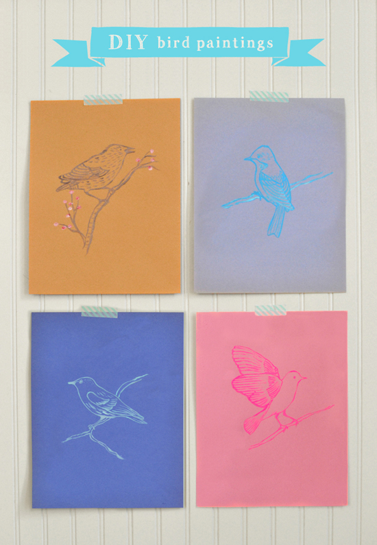 DIY Free Printable Bird Coloring Pages Downloadable Craft Art Project For Kids