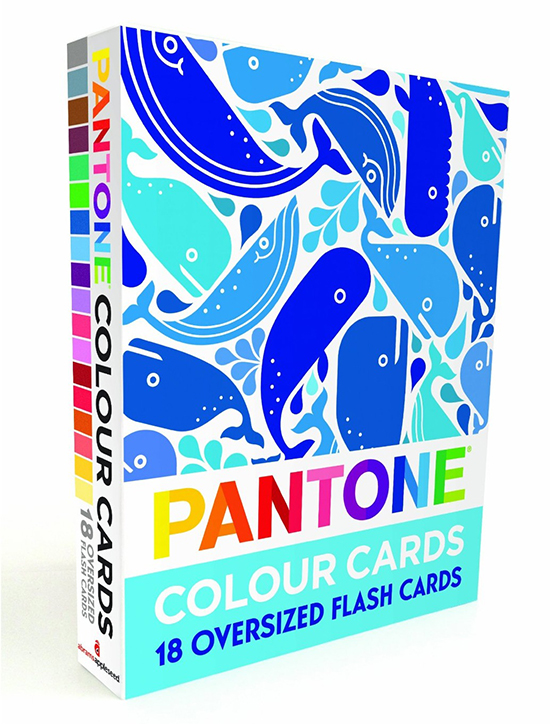 Pantone Color Cards Flashcards for Kids