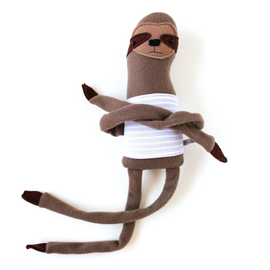 Sloth Stuffed Animal Toy from Finkelstein's Center