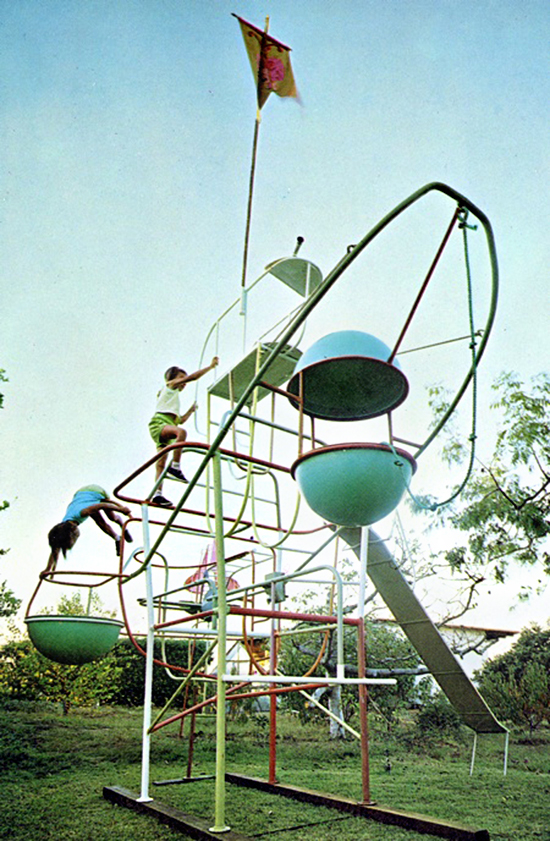 Radakovich 1960's playground jungle gym