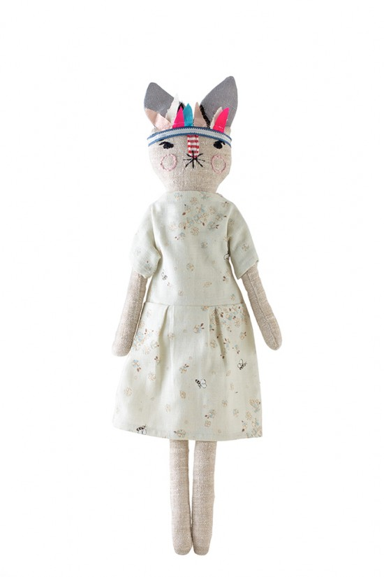 LouLou & Oscar handmade bunny rabbit fashion dolls - Otylie Autumn/Winter 2013