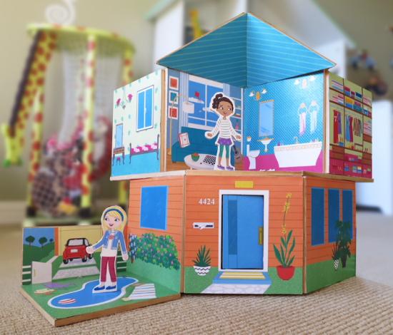 Construction Toys For Girls : Storywalls construction toy kickstarter toys girls