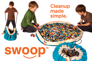 Swoop Bags - Modern Portable Toy Storage and Organization for Kids