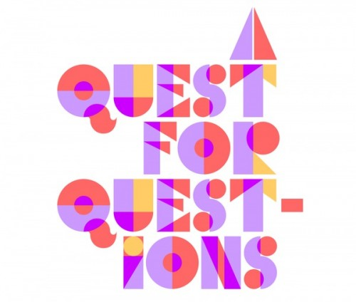 Quest for Questions from Designspiration Blog