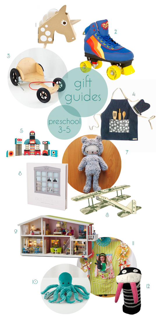 Post image for gift guides 2013: preschool 3-5
