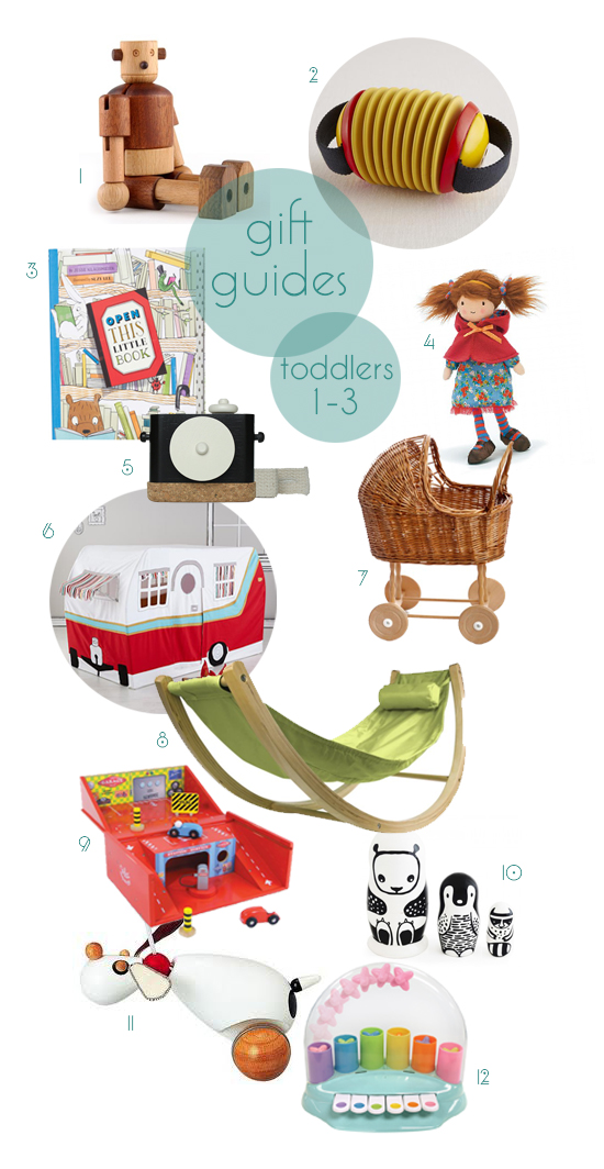 Post image for gift guides 2013: toddlers 1-3
