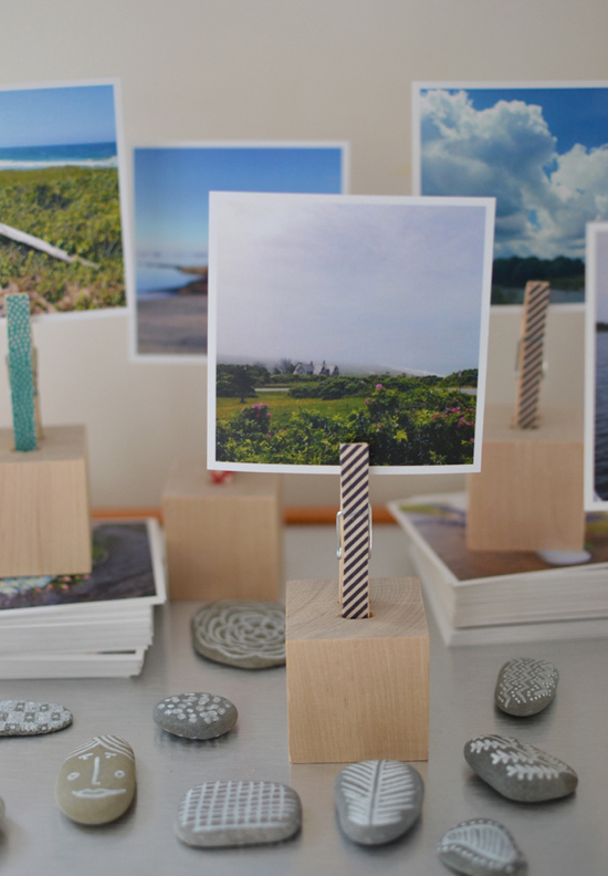 DIY Wooden Block Photo Holders - Easy Holiday Gift Idea ...