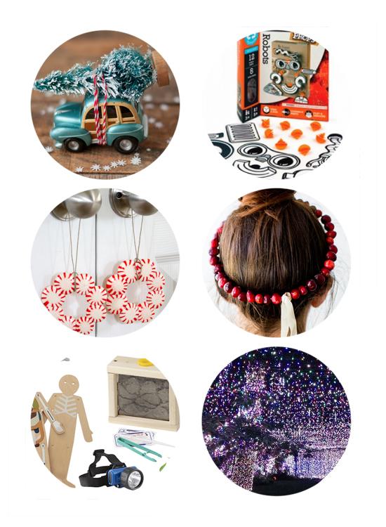 This week's top links: christmas lights, christmas diy ornaments, and christmas gift guides