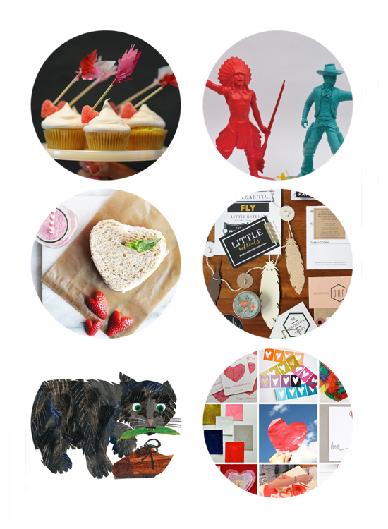 Best links online this week include Valentine DIY cards, Valentine's Crafts, Alt Summit Business Cards, and Children's Illustrators.