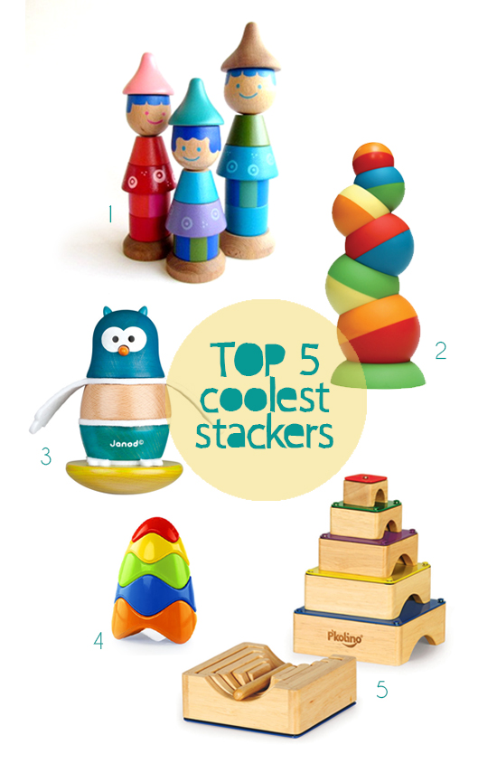 Unique Toys For Toddlers : Top stackers for toddlers handmade toys kids
