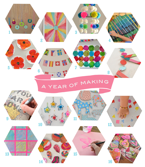 a year of making :: art bar on @smallforbig