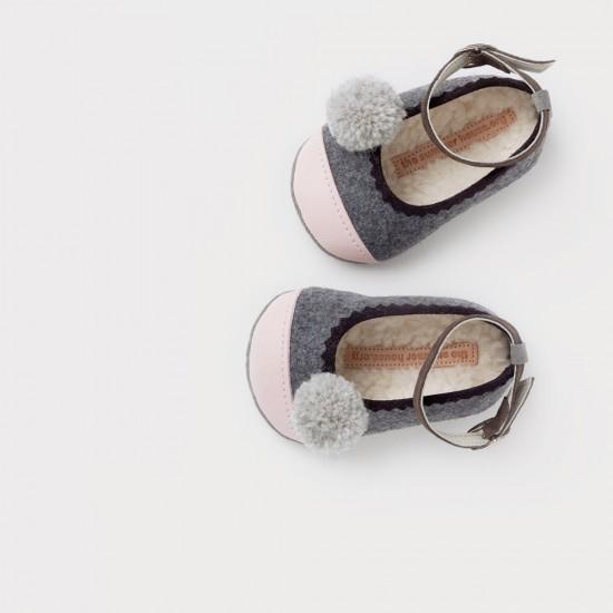 grey_pink_wool_leather_pompom_ballerina_1