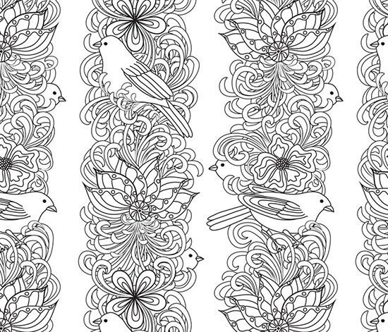 Secret Garden Page 3 Colouring Pages