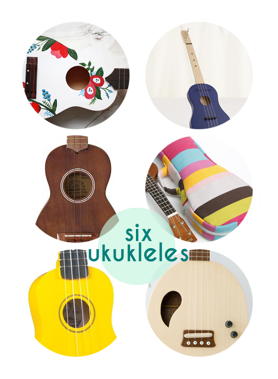 six ukuleles for you and the kids
