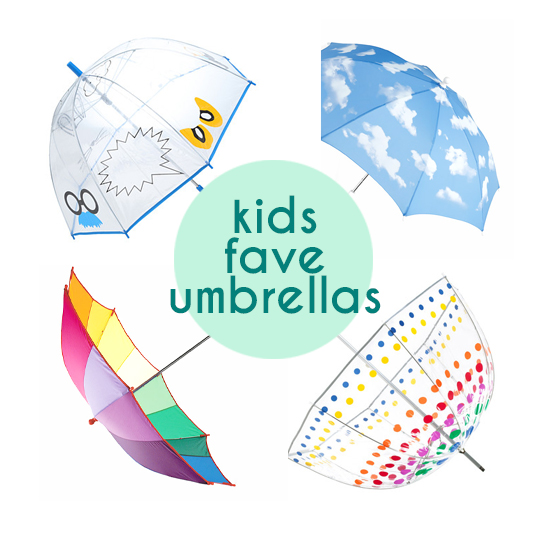 Top kids umbrellas - cool modern umbrellas for kids