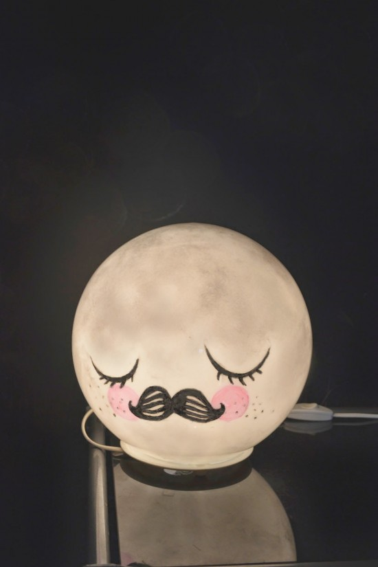 mr moon lamp ikea hack moon light kids decor small for big. Black Bedroom Furniture Sets. Home Design Ideas