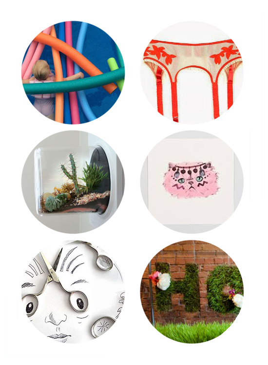 This week's top links: letters to kids, birthday gifts for moms, terrarium upcycling, pink kitty art, scissors drawings, Alt Summit Summer
