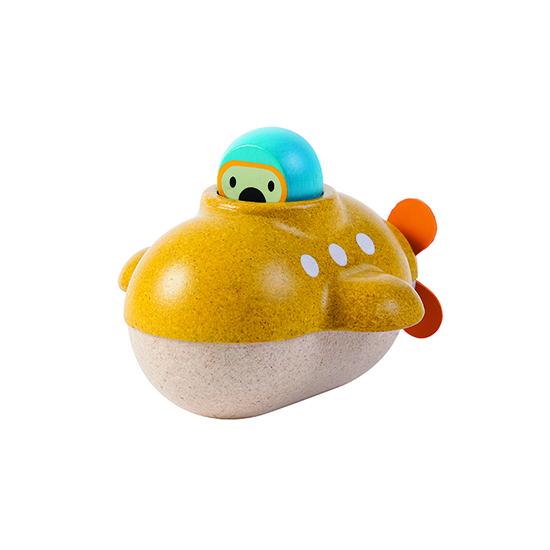 Plan Toys Eco-friendly Submarine bath toy