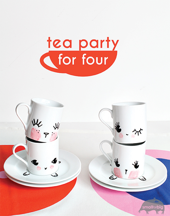 Diy tea party set for kids espresso cups diy kids - Cups and kids ...