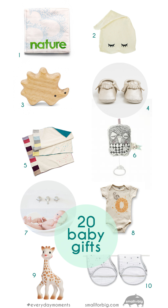 20 out of the box baby shower gifts - modern gifts for baby - heirloom gifts for infants
