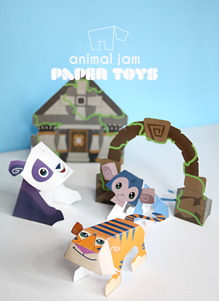 Image of: Jam Conspiracy Animal Jam National Geographic Kids Lost Temple Of Zios Printable Paper Toys For Kids Small For Big Animal Jam National Geographic Kids Lost Temple Of Zios Printable