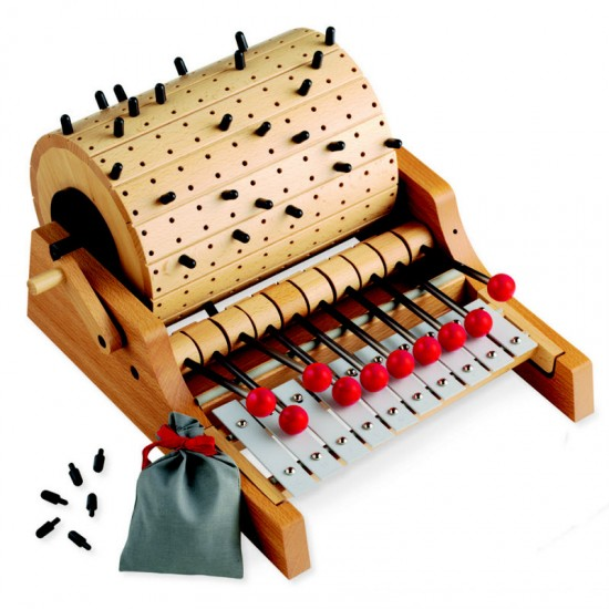 Wooden Musical Toys : Naef gloggomobil toy wooden organ musical instrument