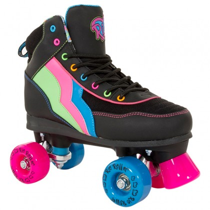Retro kids roller skates with rainbows best christmas gifts for
