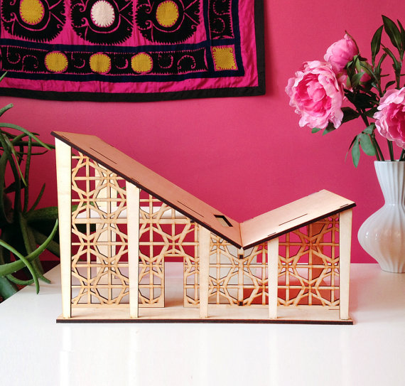 3 Star Studio Laser Cut Wood Dollhouses - Handmade Dollhouses - Modern Dollhouses | Small for Big