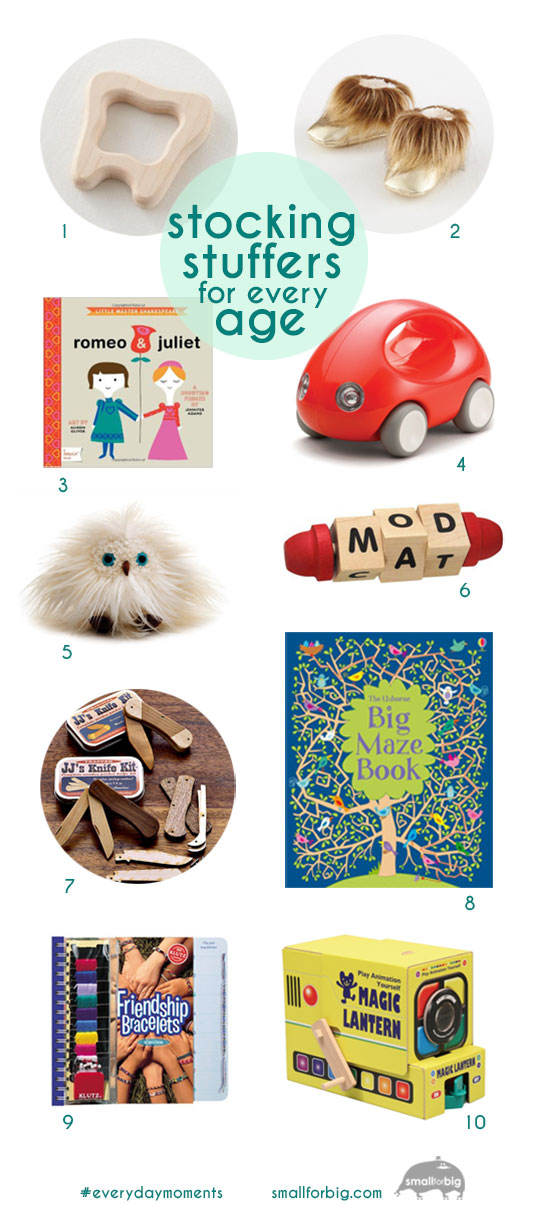 Best Stocking Stuffers for Every Kid - Kids Gifs from Santa - Small Gifts for Kids | Small for Big
