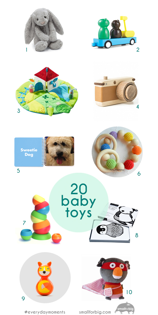Top 20 Baby Toys - Modern Gifts for Baby - Best Toys for Infants | Small for Big
