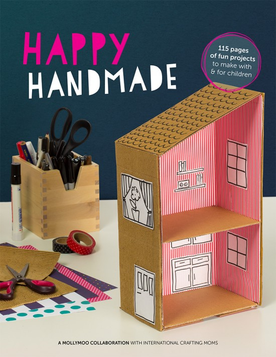 Happy handmade ebook diy crafts for kids family craft for Book craft ideas