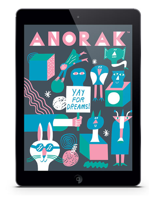 Anorak Magazine App - Educational Games for Kids - Creative Stories App | Small for Big