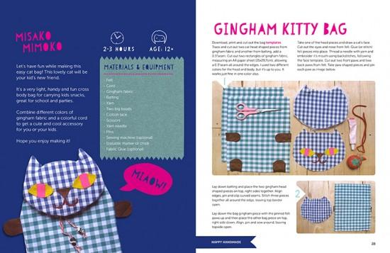 Happy Handmade DIY Craft ebook for kids