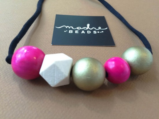 Madre Beads - modern handmade teething necklaces