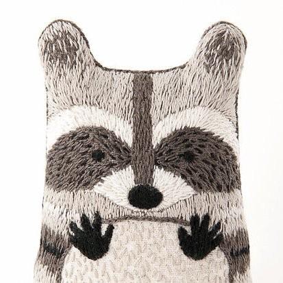 Kiriki DIY Doll Kits - Embroidered plushie kits - Hand-sewn stuffed animal craft Kits | Small for Big