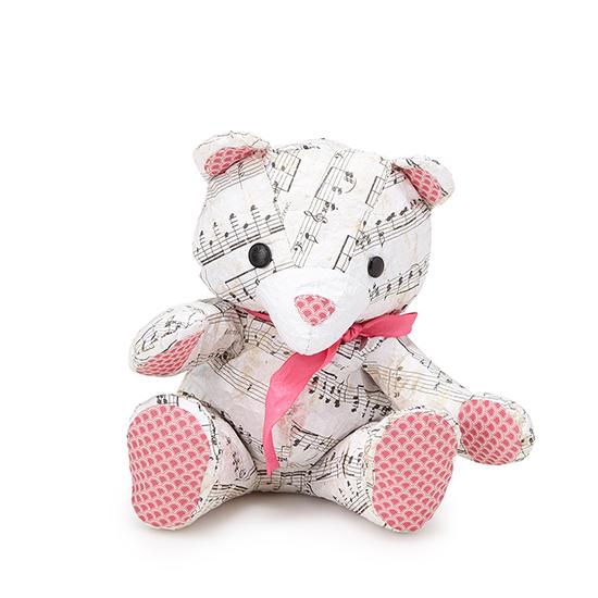 crumple bear diy stuffed bear craft kit