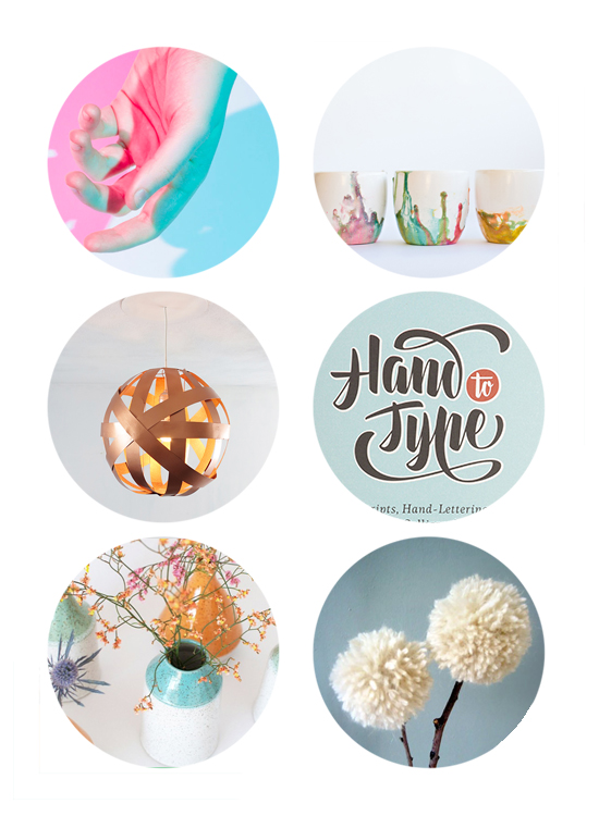 Top Links online this week include: mother's day DIY crafts for kids, dandelion crafts, top hand lettering books, and DIY lampshade.