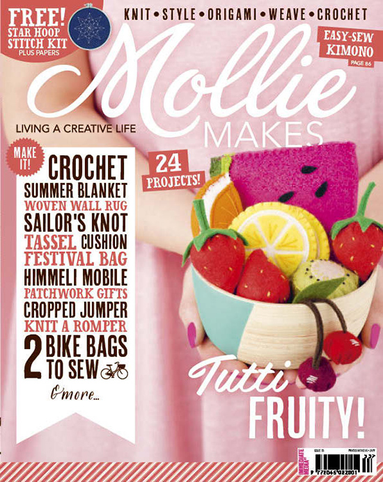 Mollie Makes Issue #53 - creativity, crafts, diy, inspiration, and how-to's