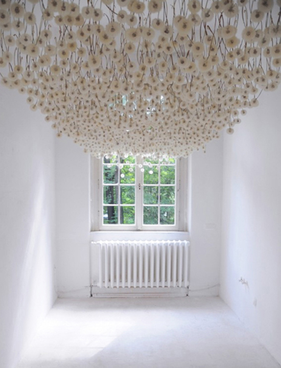Regine Ramseier - Dandelions - Art Installation | Small for Big