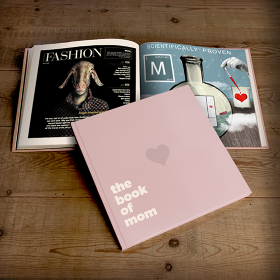 The Book of Mom - Last MInute Mothers Day Gifts - Personal Gifts for Mom | Small for Big