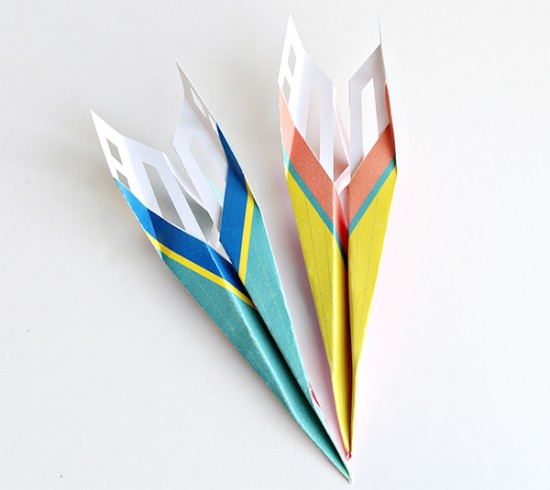 Printable Paper Plane How-to – Cricut Explore Paper Planes ...